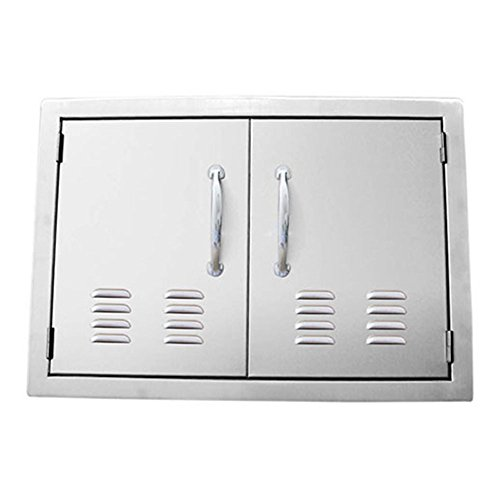Sunstone-Grills-Classic-Series-Double-Access-Flush-Mount-Doors-with-Vents-0