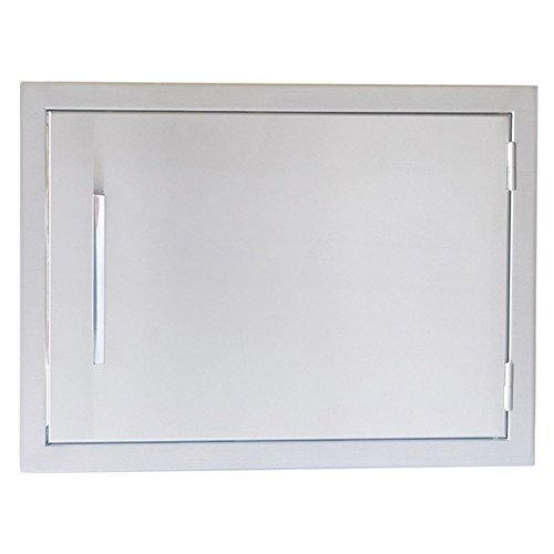 Sunstone-Grills-Signature-Series-Beveled-Frame-Horizontal-Door-0