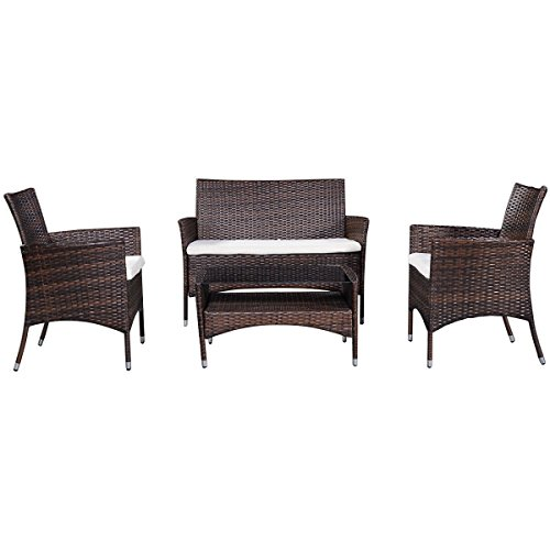 Tangkula-Tangkula-4-Piece-Outdoor-Patio-PE-Rattan-Wicker-Table-Shelf-Sofa-Furniture-Set-With-Cushion-0