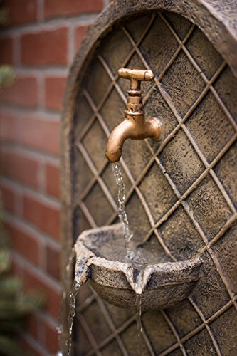 The-Milano-Outdoor-Wall-Fountain-Florentine-Stone-Finish-Water-Feature-for-Garden-Patio-and-Landscape-Enhancement-0-1