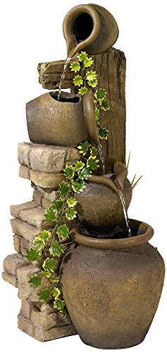 Three-Rustic-Jugs-Cascading-Fountain-0