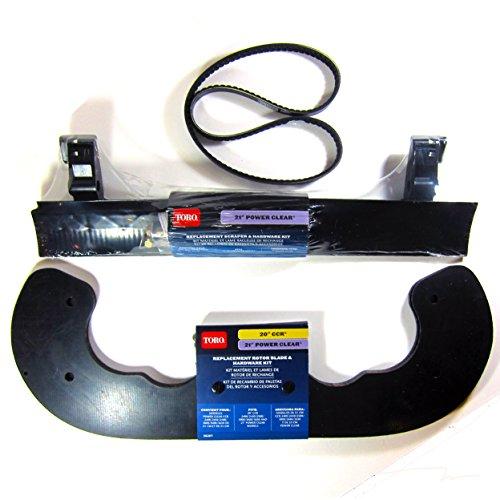 Toro-Power-Clear-621-Snowblower-Paddles-38261-Scaper-38269-and-V-Belt-108-4921-Kit-0