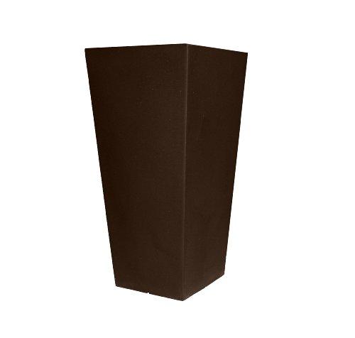 Tusco-Products-CTU32ES-Cosmopolitan-Tall-Square-Garden-Planter-32-Inch-Espresso-0