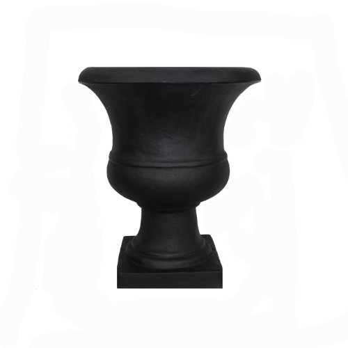 Tusco-Products-Outdoor-Urn-17-Inch-Black-0