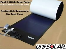 Uni-Solar-PVL-136-Power-Bond-PVL-136-Watt-24-Volt-216-x-155-inches-Flexible-Solar-Panel-Easiest-to-install-Peel-Stick-0