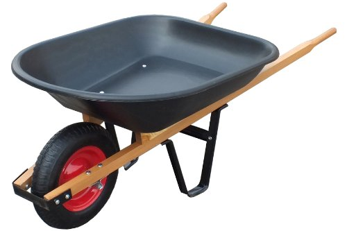 United-General-WH89679-Poly-Tray-Wheelbarrow-4-Cubic-Feet-0