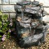 Virginia-Rock-Water-Fountain-Stunning-Garden-Fountain-with-Cascading-Pools-and-LED-Lights-Soothing-Sounds-and-Low-Splash-Design-Pump-Included-0-0