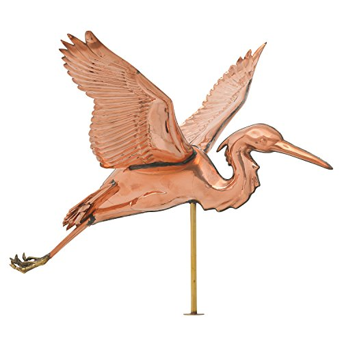 Whitehall-Products-Copper-Heron-Weathervane-Polished-0-0
