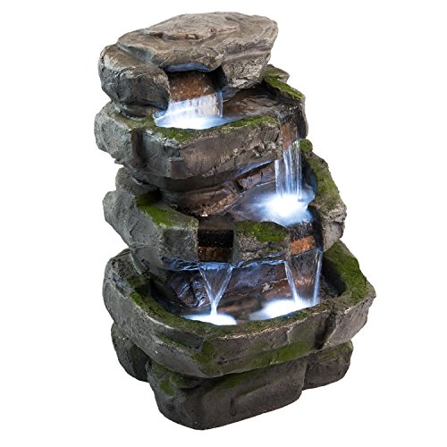 Wilson-Rock-Fountain-Stunning-Outdoor-Water-Feature-for-Gardens-Patios-Weather-Resistant-wLED-Lights-Pump-0-0