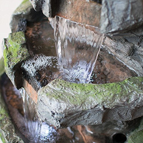 Wilson-Rock-Fountain-Stunning-Outdoor-Water-Feature-for-Gardens-Patios-Weather-Resistant-wLED-Lights-Pump-0-1