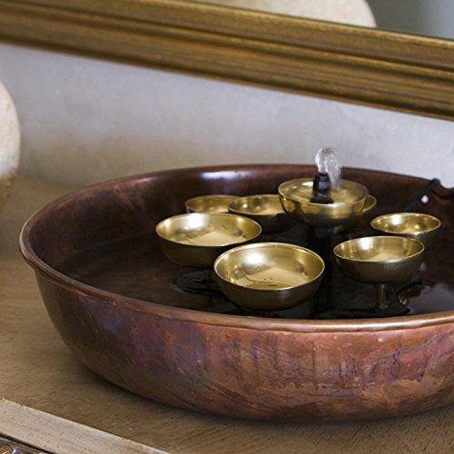 Woodstock-Water-Bell-Tabletop-IndoorOutdoor-Water-Fountain-0-0