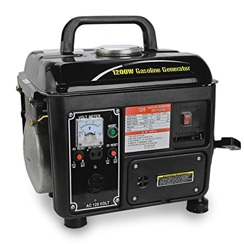 XtremepowerUS-1200Watt-Portable-Gasoline-Power-GeneratorBlack-0