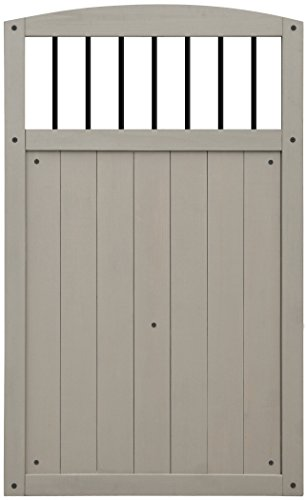 Yardistry-Gate-with-Black-Baluster-Inserts-42-Inch-by-68-Inch-Gray-0