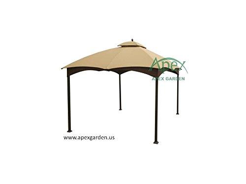 allen-roth-Gazebo-Beige-Replacement-Canopy-Top-Model-GF-12S004BTO-0-0