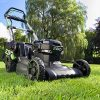 EGO-Power-LM2020SP-20-Inch-56-Volt-Lithium-ion-Brushless-Steel-Deck-Walk-Behind-Self-Propelled-Lawn-Mower-Battery-and-Charger-Not-Included-56-V-Green-0-0