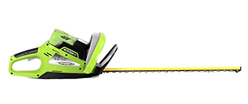 Earthwise-LHT14022-22-Inch-Blade-40-Volt-Cordless-Electric-Hedge-Trimmer-2Ah-Battery-Charger-Included-0