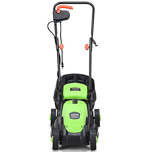 Goplus-14-Inch-12-Amp-Lawn-Mower-wGrass-Bag-Folding-Handle-Electric-Push-Lawn-Corded-Mower-0-0