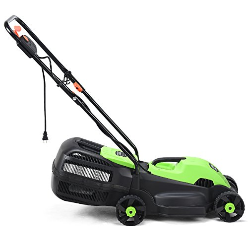 Goplus-14-Inch-12-Amp-Lawn-Mower-wGrass-Bag-Folding-Handle-Electric-Push-Lawn-Corded-Mower-0-1