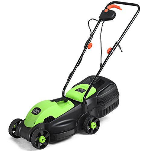 Goplus-14-Inch-12-Amp-Lawn-Mower-wGrass-Bag-Folding-Handle-Electric-Push-Lawn-Corded-Mower-0