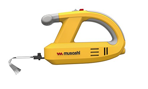 MUSASHI-Rechargeable-Weeding-Vibrator-WE-750-YellowJapan-Domestic-genuine-productsShips-from-JAPAN-0-0