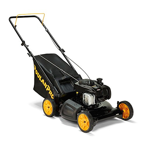 Poulan-Pro-961320101-PR550N21R3-Briggs-550-E-Series-Side-DischargeMulchBag-3-in-1-Push-Lawn-Mower-with-21-Deck-0