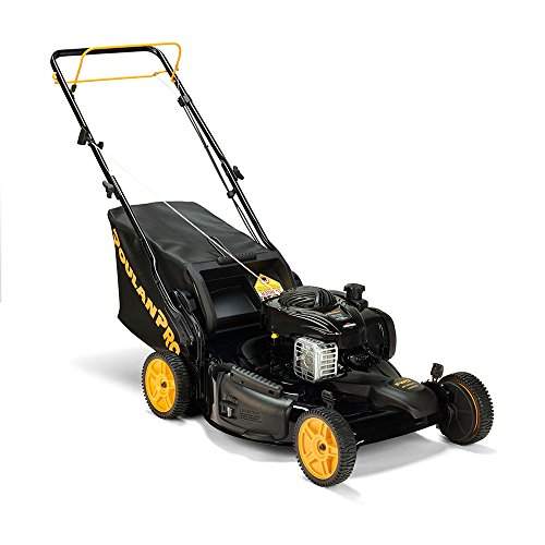 Poulan-Pro-961420140-PR550Y22RP-Briggs-550E-Side-DischargeMulchBag-3-in-1-Lawnmower-with-22-Inch-Deck-0