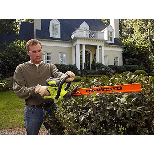 Ryobi-24-in-40-Volt-Lithium-Ion-Cordless-Hedge-Trimmer-26-Ah-Battery-and-Charger-Included-0-0