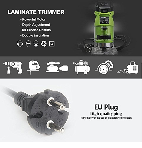 Seentech-6mm-14-Woodworking-Trimmer-Tool-550W-Power-Electric-Router-Woodwork-European-plugsment-0-0