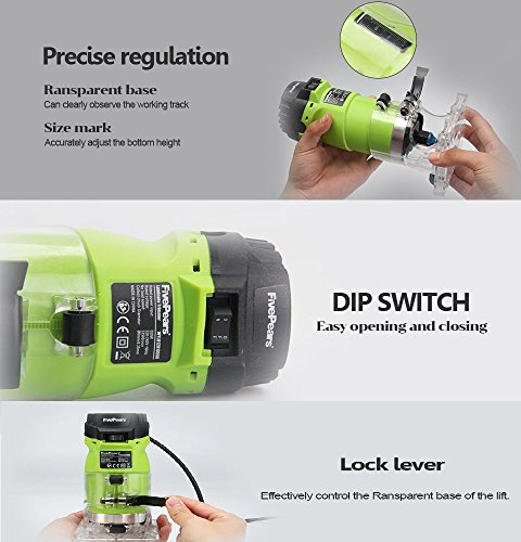 Seentech-6mm-14-Woodworking-Trimmer-Tool-550W-Power-Electric-Router-Woodwork-European-plugsment-0-2