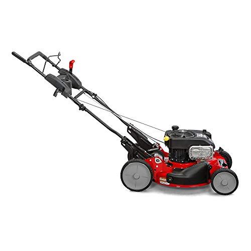 Snapper-RP2185020-7800981-NINJA-190cc-3-N-1-Rear-Wheel-Drive-Variable-Speed-Self-Propelled-Lawn-Mower-with-21-Inch-Deck-and-ReadyStart-System-Ninja-Mulching-Blade-and-7-Position-Heigh-of-Cut-0-1