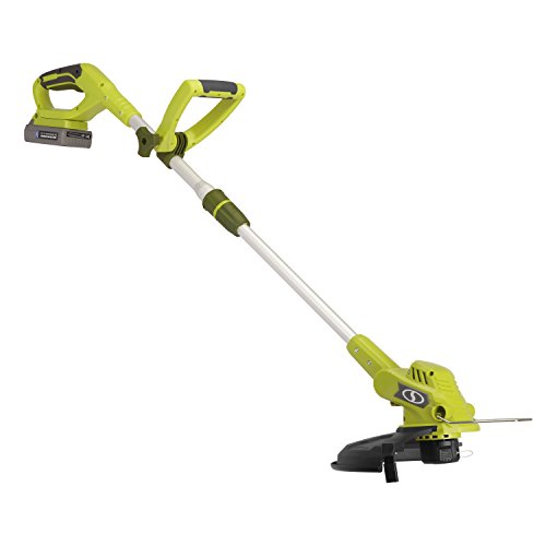 Sun-Joe-20VIONLTE-ST11-Cordless-Swath-String-TrimmerEdger-Green-0-0