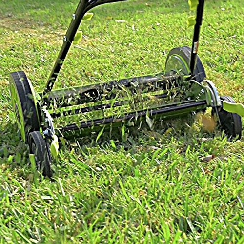 Sun-Joe-MJ504M-16-Inch-Manual-Reel-Mower-wo-Grass-Catcher-0-2