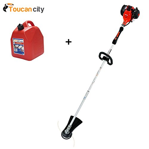 Toucan-City-Gas-Can-and-ECHO-2-Cycle-281-cc-Straight-Shaft-Gas-Trimmer-SRM-280-0