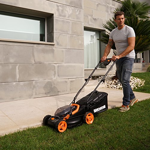 Worx-WG779-40V-40AH-Cordless-14-Lawn-Mower-with-Mulching-Capabilities-and-Intellicut-Dual-Charger-2-Batteries-0-1