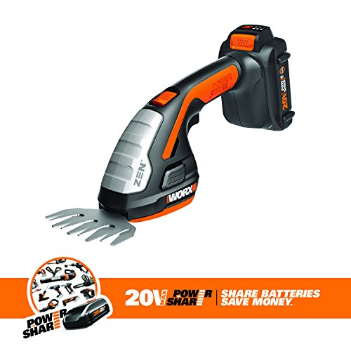 Worx-WG801-Lithium-Ion-Shear-Shrubber-Trimmer-Black-and-Orange-0-1