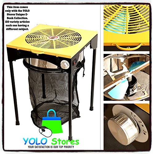 YOLO-Stores-Hydroponics-Leaf-Trimmer-Hydroponic-Bud-Trimming-Reaper-wBlades-Bag-3-Speeds-Pro-Machine-On-Off-Switch-110V-0