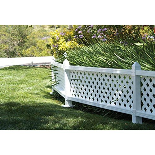 1-ft-H-x-4-ft-W-White-Modular-Vinyl-Lattice-Fence-Panel-4-Pack-0-1