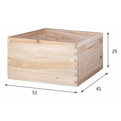 10-Frame-Beehive-Bee-Hive-Box-Extension-Fir-Seamless-Splicing-Beekeeping-tool-0-1