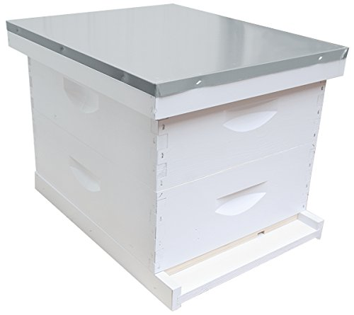 10-Frame-Complete-6-58-Inch-Hive-Kit-Assembled-Made-in-the-USA-0