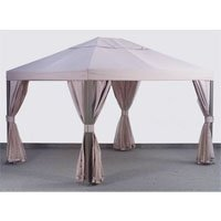 10-X-12-Square-Post-Single-Tiered-Gazebo-Replacement-Canopy-0