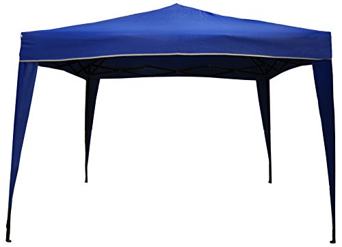 10-x-10-Pop-Up-Outdoor-Garden-Gazebo-Party-Tent-Canopy-Navy-with-White-Trim-0