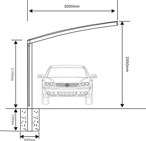 10-x-20-Metal-Carport-Tent-Shelter-Attached-Carport-Metal-Aluminum-With-Gutter-And-Polycarbonate-Panel-Metal-RV-Carports-for-Car-Yacht-And-Copter-Also-Is-Luxury-Patio-Cover-0-2