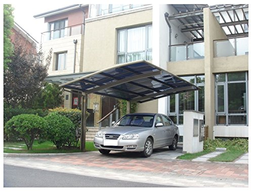 10-x-20-Metal-Carport-Tent-Shelter-Attached-Carport-Metal-Aluminum-With-Gutter-And-Polycarbonate-Panel-Metal-RV-Carports-for-Car-Yacht-And-Copter-Also-Is-Luxury-Patio-Cover-0