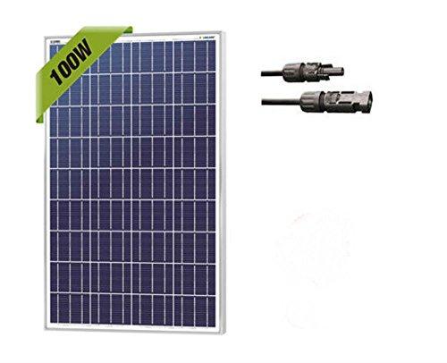 100-Watt-100W-Watts-Solar-Panel-12V-Volt-Poly-Off-Grid-Battery-Charge-RV-0