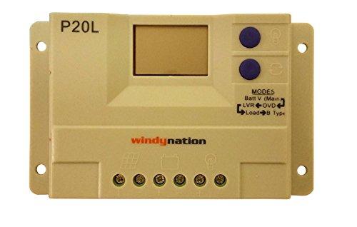 100-Watt-12V-Solar-Panel-Kit-Adjustable-Mount-RV-Cabin-Off-Grid-Battery-0-2