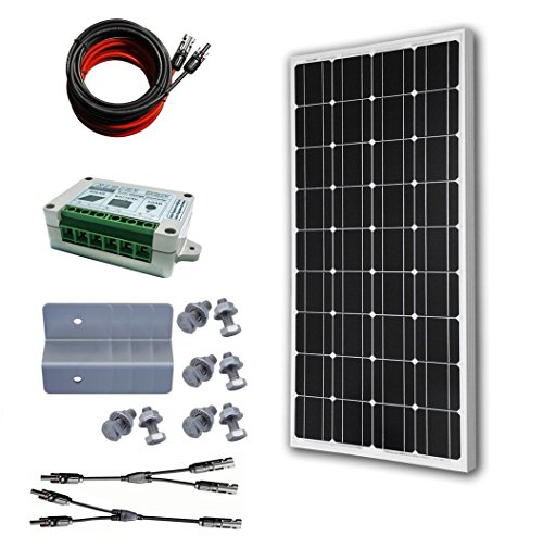 100w-12V-Monocrystalline-Solar-Panel-Kit-1-pc-100w-Mono-Solar-Panel-1-set-of-Z-Mounting-Brackets-1-set-of-5m-MC4-Solar-Cable-Adaptor-Kit-1-pc-15A-PWM-Charge-Controller-1-pair-of-MC4-Branch-Conn-0