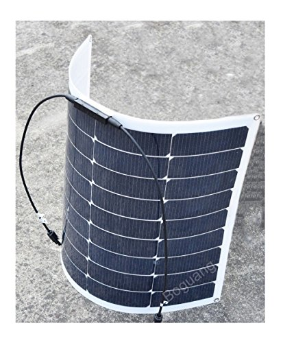 100w-18v-Solar-Panel-DIY-Kits-System-2x-50w-Semi-Flexible-Solar-Panel-10A-12v24v-Controller-3m-MC4-Cable-3m-Aligator-clip-Cable-for-Boat-Car-Yacht-12v-Battery-Charger-0-2