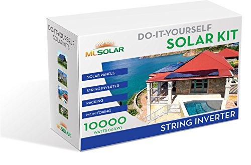 10Kw-Complete-DIY-Solar-Kit-260W-Watt-REC-Solar-Panels-SMA-SunnyBoy-String-Inverter-Roof-Tech-Rail-Less-Racking-0