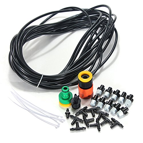 10m33Ft-Micro-Garden-Misting-Cooling-System-Atomization-Spray-Nozzle-0