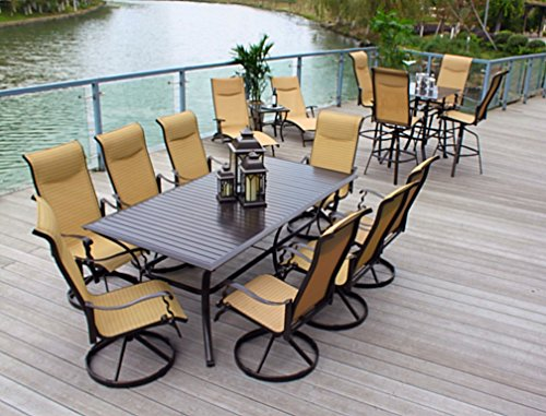 10pc-Cast-Aluminum-Patio-Furniture-Set-with-Cover-Bronze-0